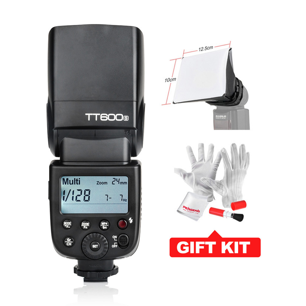Godox TT600S GN60 Flash Light Speedlite for Sony MI Shoe Cameras A7 A7S A7R A7 II A6000 A58 A99 + X1T-S Transmitter-Optional godox tt600s flash speedlite for sony multi interface mi shoe cameras a7 a7s a7r a7 ii a6300 etc