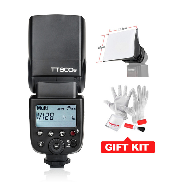 Godox TT600S GN60 Flash Light Speedlite for Sony MI Shoe Cameras A7 A7S A7R A7 II A6000 A58 A99 + X1T-S Transmitter-Optional