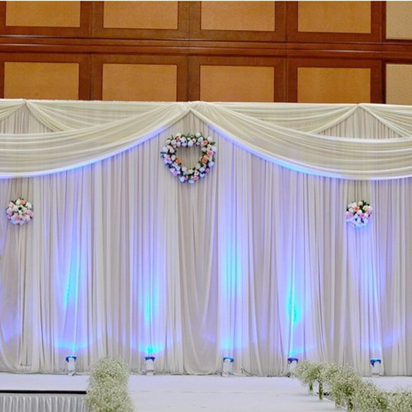 Free Shipping 3 6m Elegant Wedding Backdrops Stage Background New Arrival