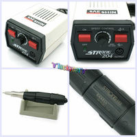 1/Set Dental SAESHIN Strong 204 Micro Motor 102L Polishing Handpiece 110V/220V