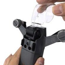 Osłona obiektywu osłona na kamerę dla DJI Spark dron gimbal Guard przedni system czujników 3D zakrętka z zabezpieczeniem przeciwpyłowym