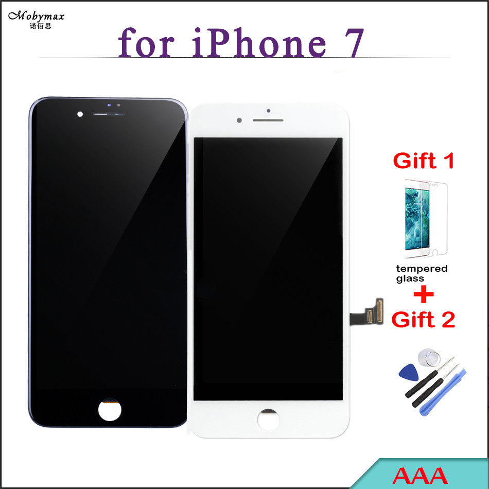 All Tested Works LCD Display for iPhone 7 Screen Replacement Touch Glass Digitizer Assembly 5s Pantalla Phone Part Free Gifts