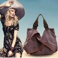 Mulheres de todos os jogo cowboy hippie street style moda senhora preguiçoso travesseiro sacos de Escola do saco das mulheres Da Lona Do Vintage Saco Do Mensageiro Do Ombro