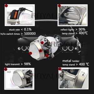 Image 2 - ROYALIN faro delantero EVOX R para BMW, E39, E60, Ford, Audi A6, C5, C6, W211, Passat B6, Skoda Fabia, 2,0