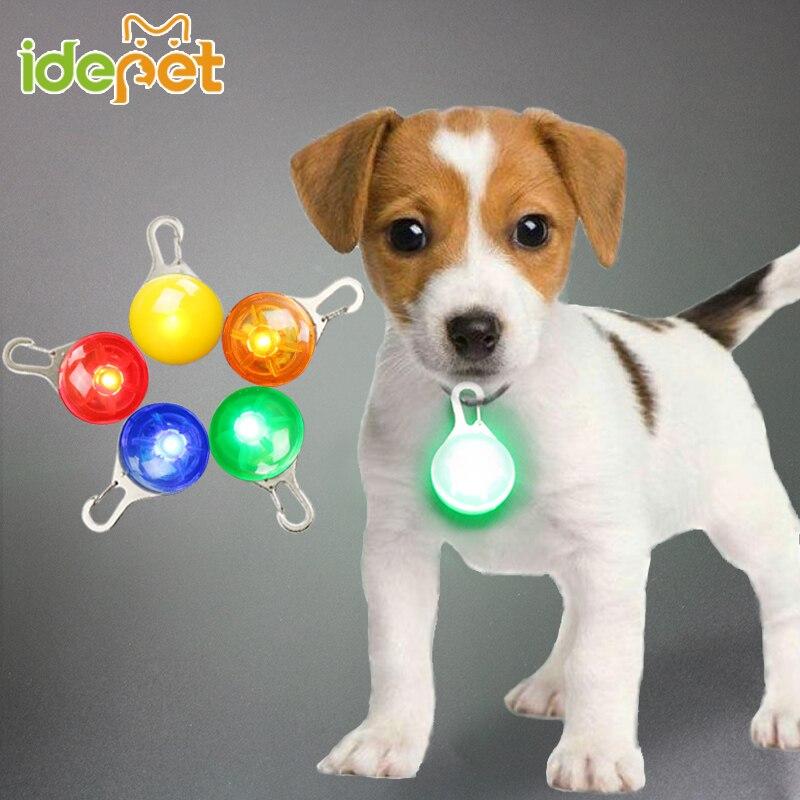 Pet светодиодный ночь безопасности вспышки света Для ошейник собака воротник светодиодный светящиеся воротник аксессуары Поставка кнопочн... ...