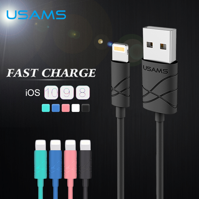 Kabel usb do iPhone 5/5S/6/6S/7 Plus różne kolory