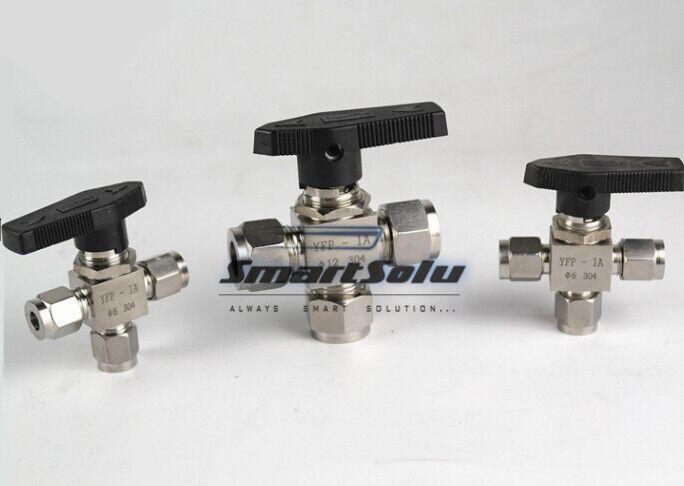 Livraison gratuite manchon en acier inoxydable ball valve fitting, Zq10mm-10m-10mm, Homebrew fitting, Droite raccords terminaux