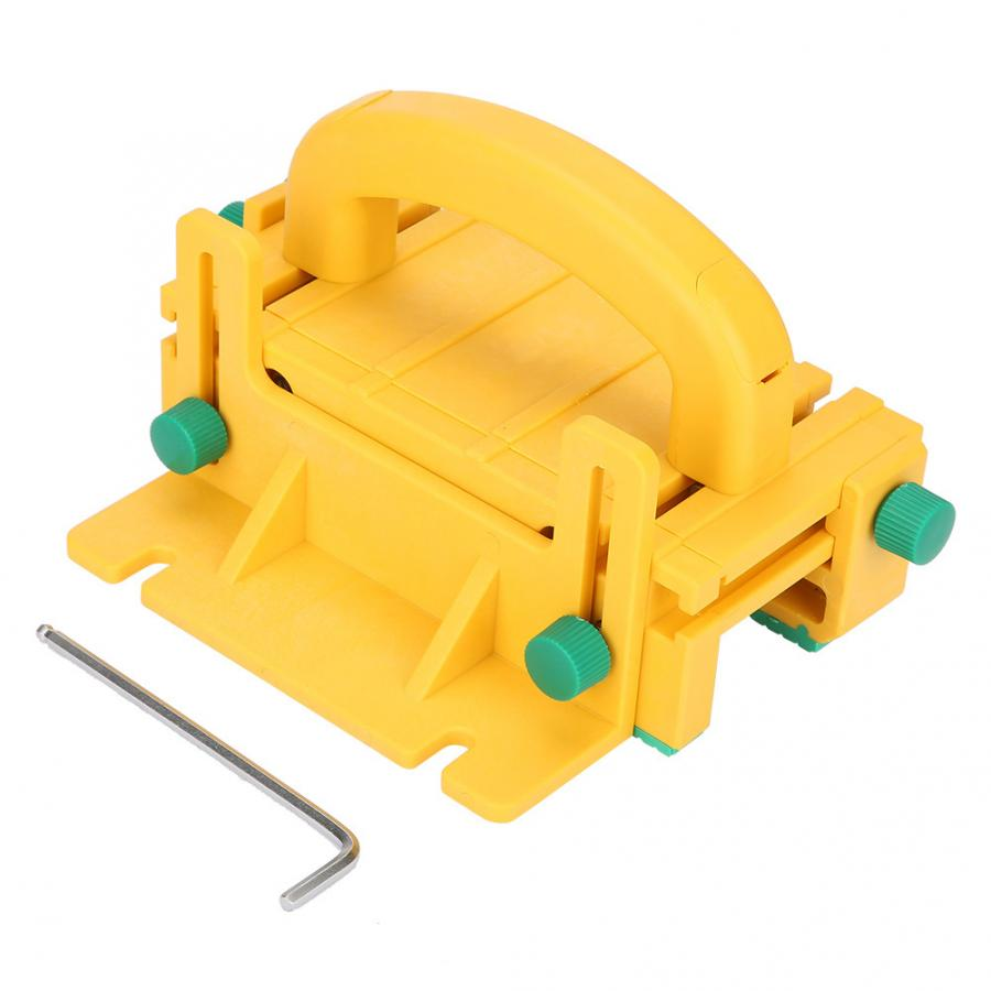 1Pc Handle Safety WoodWorking Pusher Tool for Table Saw with 3 Directional Force Power Tool Accessories