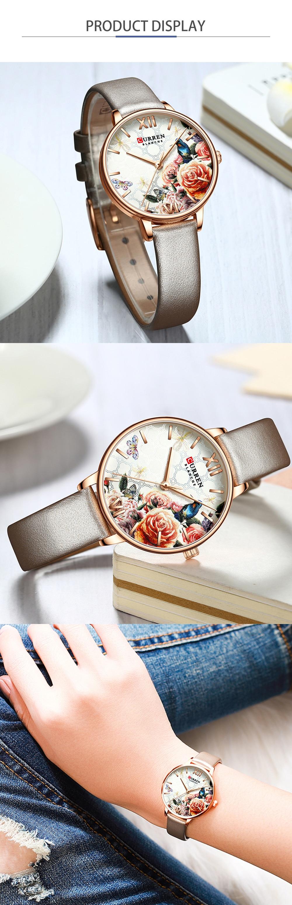 HTB1ewcFeBGw3KVjSZFwq6zQ2FXaG CURREN Charming Flower Design Fashion