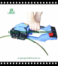 Lowest Factory Price Battery Powered Friction Weld Tool tension operate with both polypropylene and polyester plastic strapping