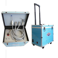 Best selling Portble Dental Unit with Oilless Air Compressor