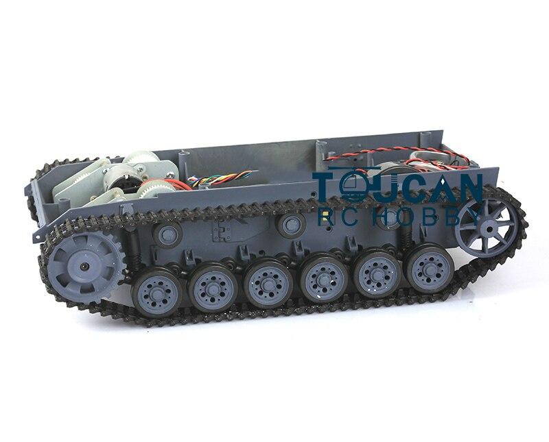 HengLong 1/16 Scale German Stug III RC Tank 3868 Chassis W/ Plastic Tracks Wheels bronco cb35116 1 35 wwii german stug iii ausf c d 2 in 1