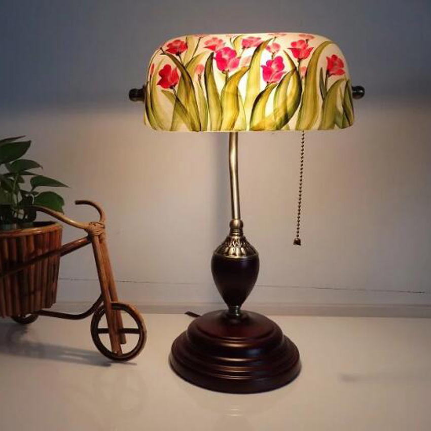 Lights & Lighting Beiaidi Romantic Rose Flower Table Lamp Marriage Bedroom Bedside Wood Desk Lamp Wedding Valentines Day Gift Lamp Warm White Latest Technology