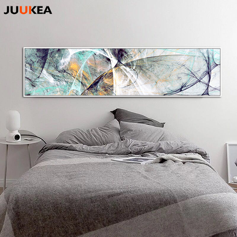 Large Size Long Abstract Creative Design Psychedelic Lines