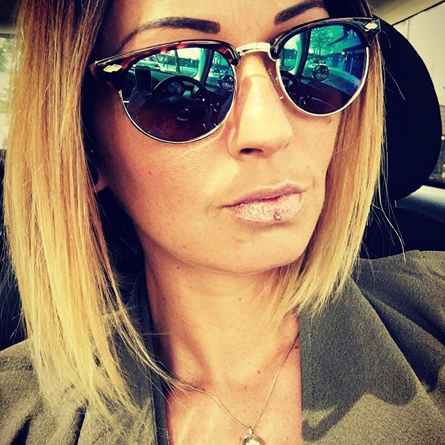 Rivet Frame Colorful Coating Shades Sun Glasses