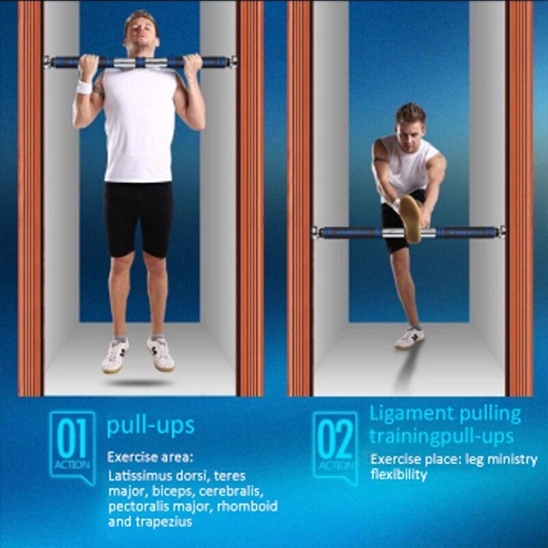 Réglable Porte Barres Horizontales Exercice Chin Up Pull Up Bar de Formation Sport équipement de fitness pour Gymnase D'entraînement À La Maison