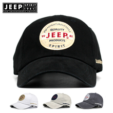 JEEP SPIRIT Brand Summer Baseball Cap Women Men Mesh Breathable Snapback Unisex Adjustable Sport Hats Dad Hat streetwear
