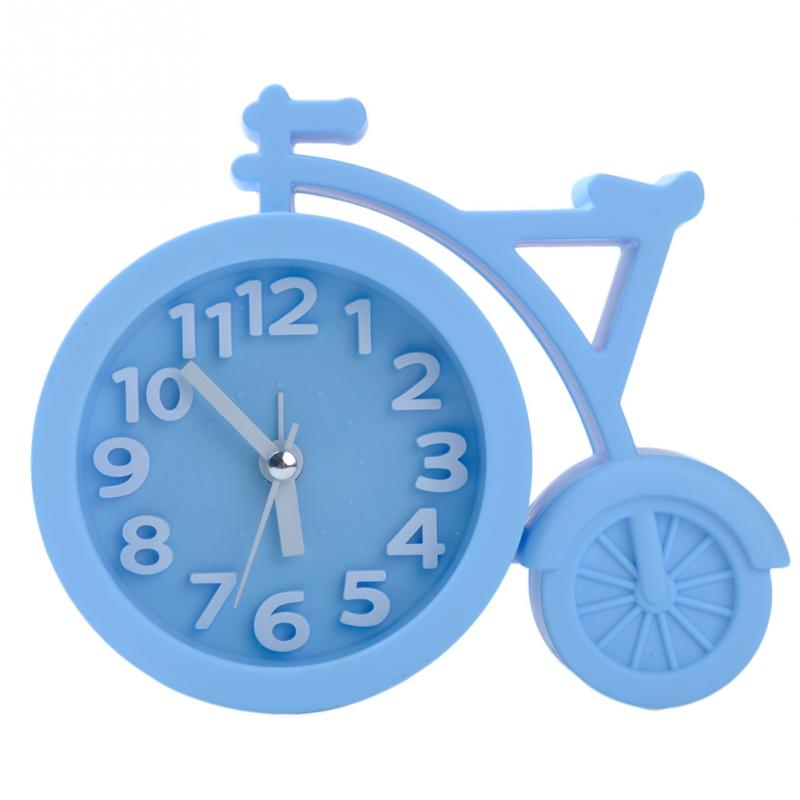 hot sale cool fashion home decoration creative art bike shape clock children kids bicycle alarm clockin alarm clocks from home u0026 garden on