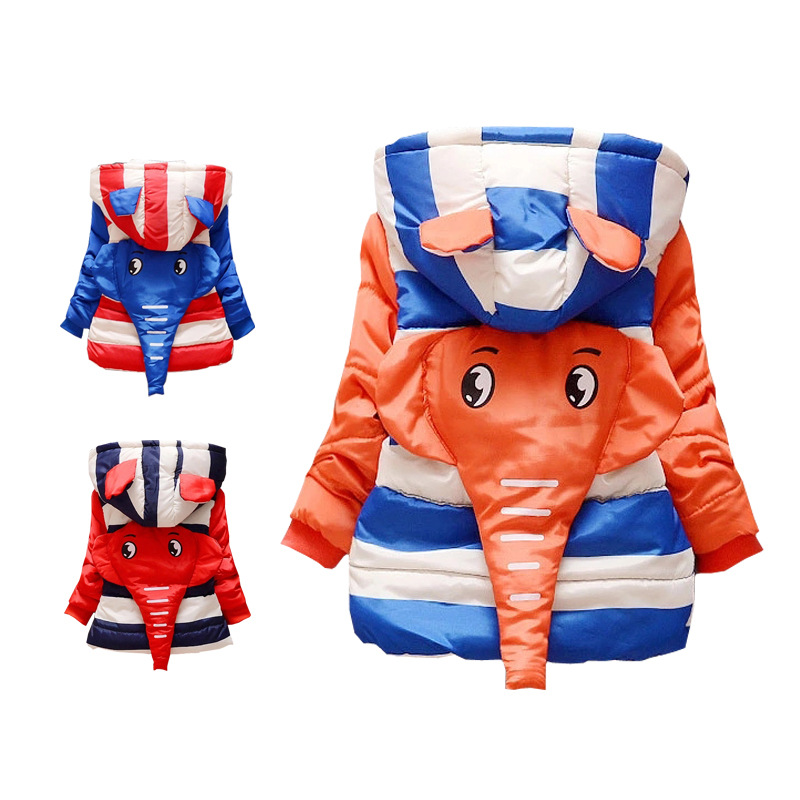Baby Boys Parkas Coats 0-3 Years old 2017 Winter Infant Clothes Hooded Fashion Style Kids Boy Coat Jacket D014  doorfix d014