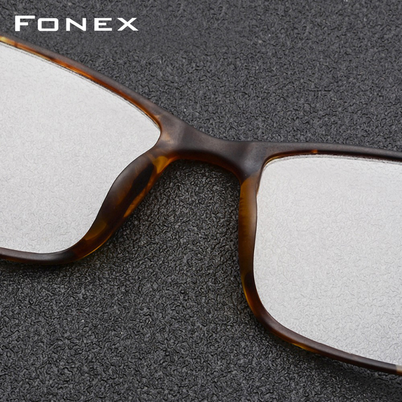 Montura de gafas de aleación de titanio TR90 montura de gafas de ojo de miopía para hombre 2019 marcos ópticos coreanos sin tornillos gafas 9855 - 3