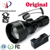 UniqueFire 1503 T50 Ir Night Vision Led Flashlight Hunting Light Adjustable Focus IR850nm Illuminator Charge Gun