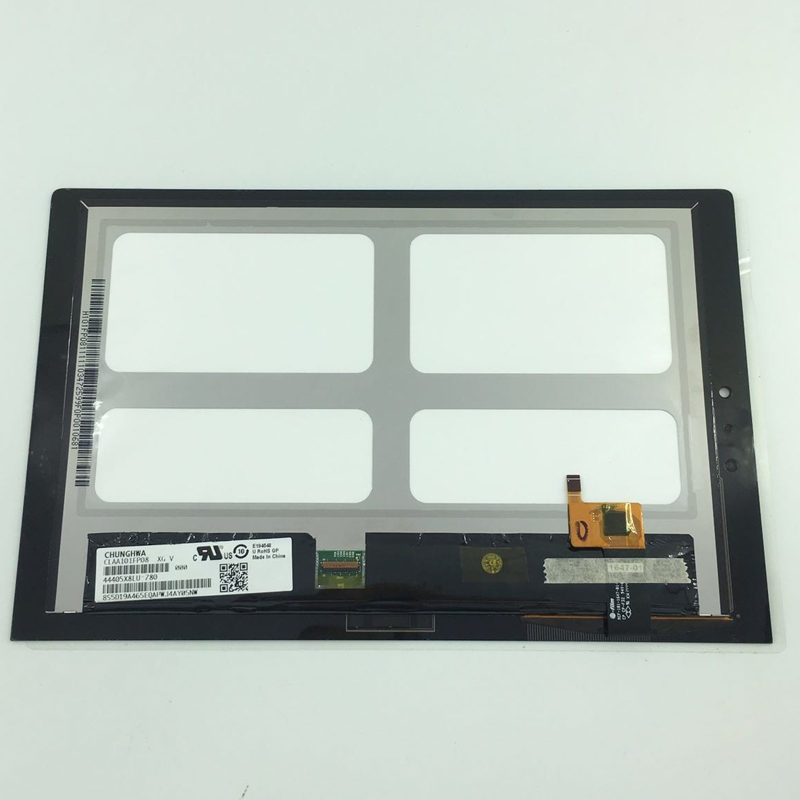 new LCD display+Touch Digitizer Screen Assembly for Lenovo Yoga Tablet 2 1050 1050F 1050LC 1050L for lenovo yoga tablet 2 1050 1050f 1050l new full lcd display monitor digitizer touch screen glass panel assembly replacement
