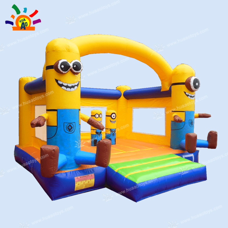 Yellow inflatable jumper font b bouncer b font inflatable castle with free shipping to door