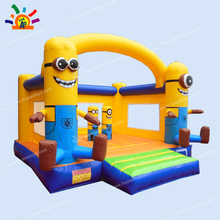 Yellow inflatable jumper bouncer inflatable castle with free shipping to door