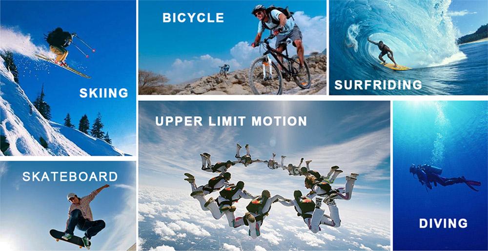 Sports camera 4K SOOCOO C30 Wifi Gyro 30M waterproof