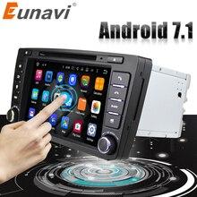 Eunavi 2 Din автомобильный DVD gps для Skoda Octavia 2012 2013 5 A5 Yeti Fabia автомобиль Android 7,1 4 ядра 2 ГБ Оперативная память Стерео Радио Навигация