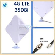 цена на Free shipping 4G 35DBI TS9 Antenna for USB Modems/router  Huawei E5776 E589 E8278