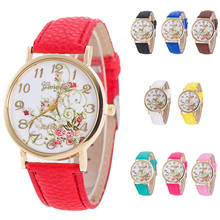 Watches Women Fashion Flowers bracelet Watches Sport Analog Quartz Wrist Watch top brand luxury relojes mujer montres wholesale