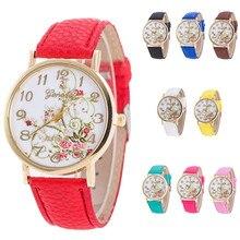 Watches Women Fashion Flowers bracelet Watches Sport Analog Quartz Wrist Watch top brand luxury relojes mujer montres wholesale