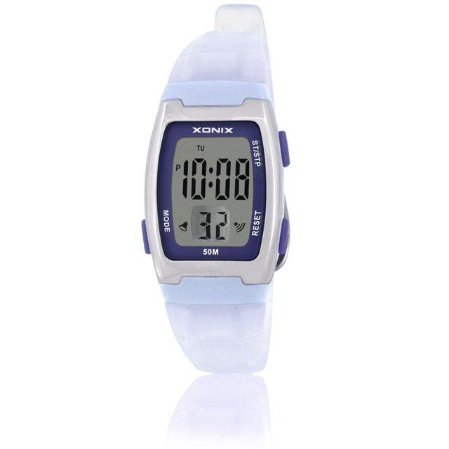 XONIX Watch Fashion Women Sports Watches Waterproof 50m Ladies Jelly Digital Watch Swimming Diving Hand Clock Montre Femme AC