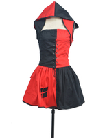 Batman Arkham Harley Quinn Dress Cosplay Costume Tailor Made