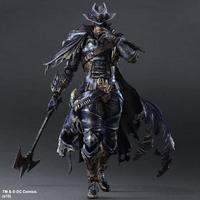 Anime Movie Batman Timeless Wild West Action Figure Playarts Kai figurine Toys Collection Model Play arts Kai doll juguetes
