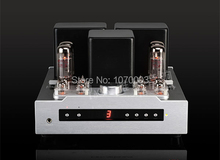 YAQIN MS-30L Integrated vacuum tube amplifier SRPP circuit EL34B*4 TR/UL Class AB1 headphone earphone amplifier 2x50W 110V/220V