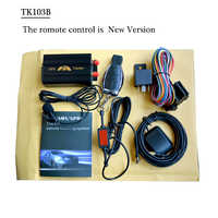 Fahrzeug Auto GPS Tracker 103B mit Fernbedienung GSM Alarm SD Card Slot Anti-theft/auto alarm system großhandel Ohne Einzelhandel Box