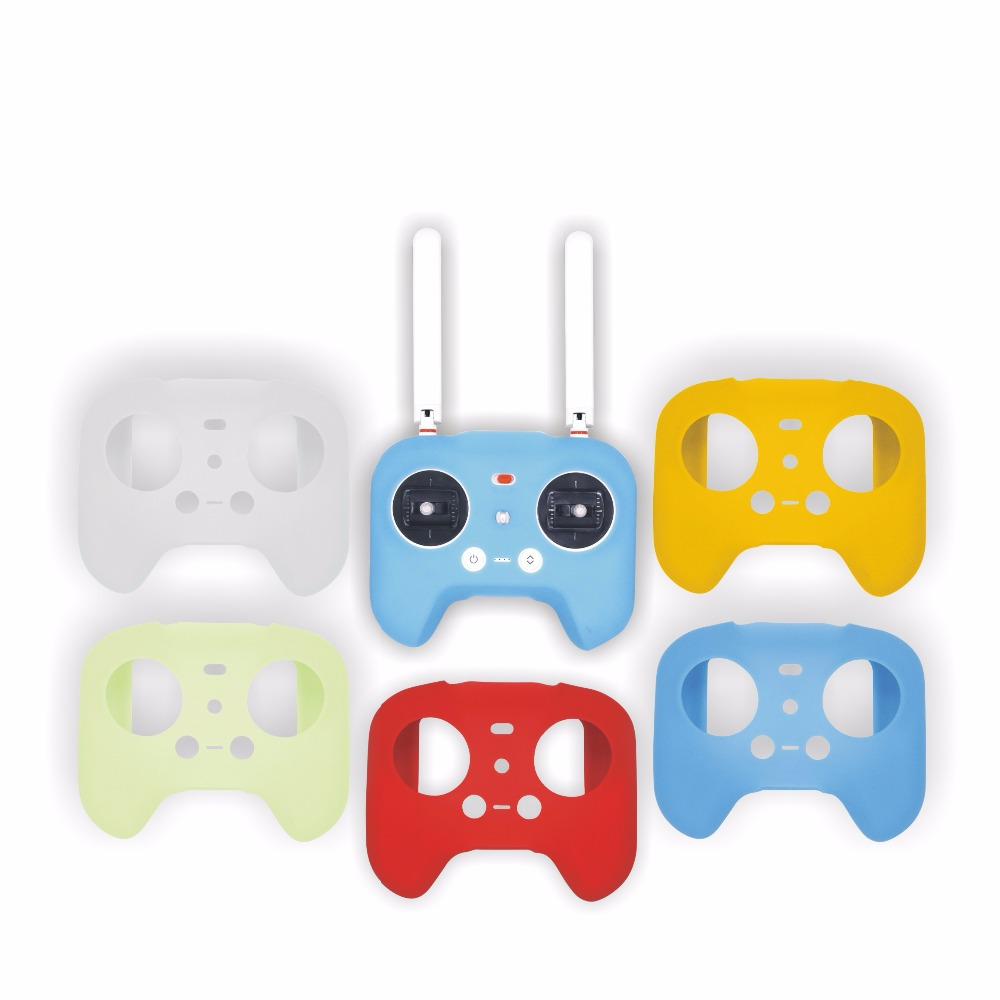 1pcs FPV Drone Remote Controller Silicone Protective Cover Case for Xiaomi MI Quadcopter travel aluminum blue dji mavic pro storage bag case box suitcase for drone battery remote controller accessories