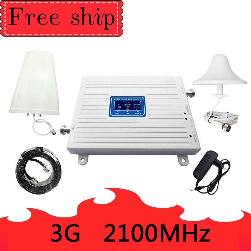 3g 2100 GSM cellulaire répéteur de signal 2100 MHZ booster 2100 MHZ amplificateur de signal cellulaire WCDMA 3g band1