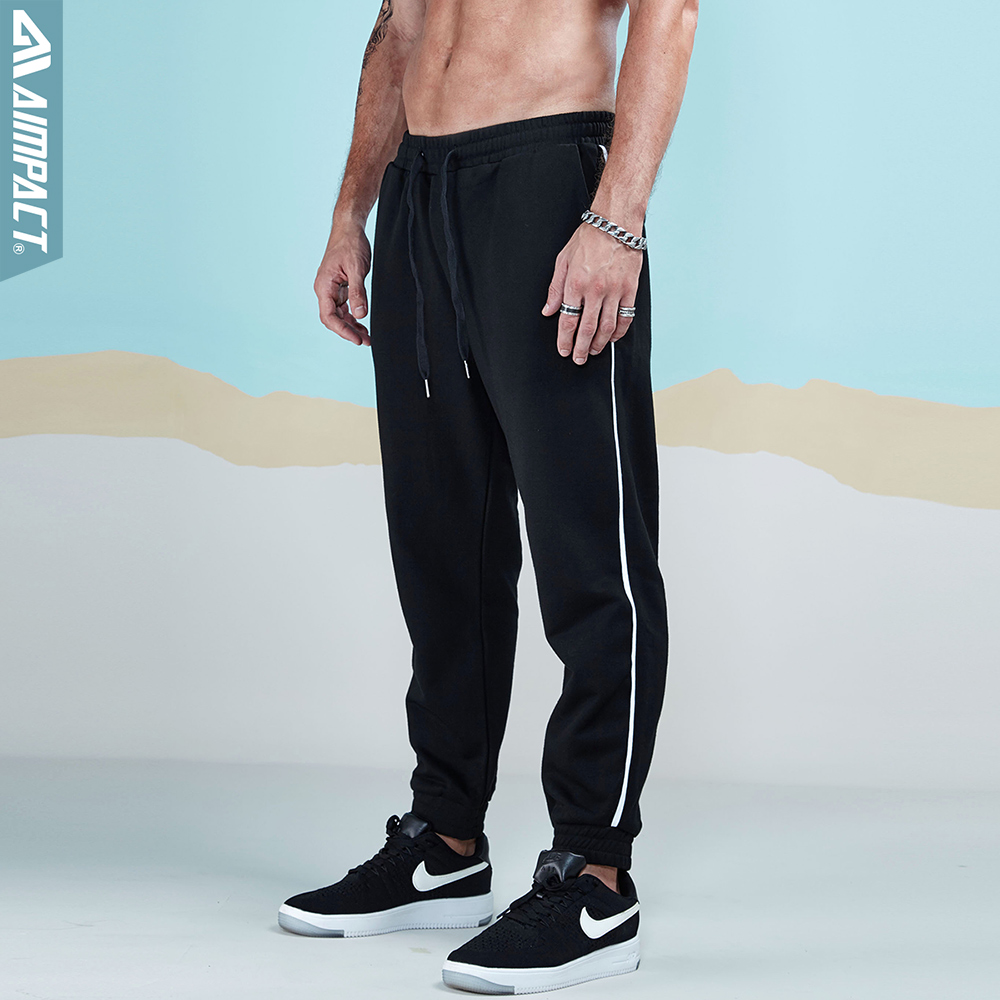 Aimpact  Causal Cotton Sweatpants Men Joggers Pants 2018 New Fashion Fitted Active Pants City Daily Pants Male Trousers 2AM5019
