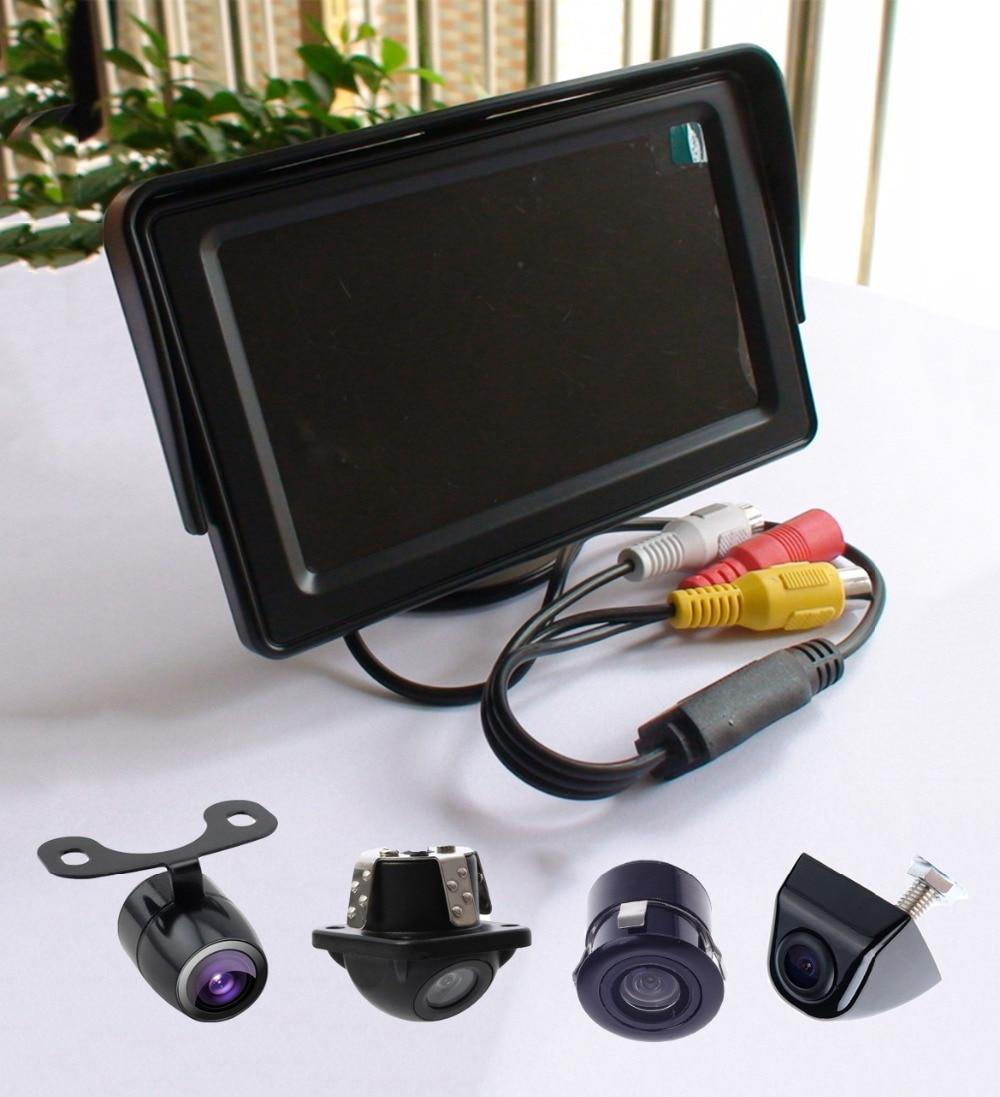 KOENBANG 1000 cd / M2 kõrge heleduse 4,3 tolli TFT LCD auto monitor - Autode Elektroonika - Foto 6