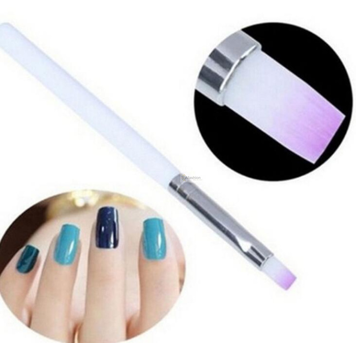 2pcs Nail UV Pen Gel Drawing Painting Brushes For Manicure Nails Art Gel Varnish Elasticity Brush Polish Tools