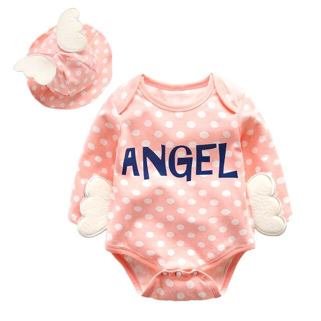 Детской одежды baby треугольник одежду с длинными рукавами ползунки