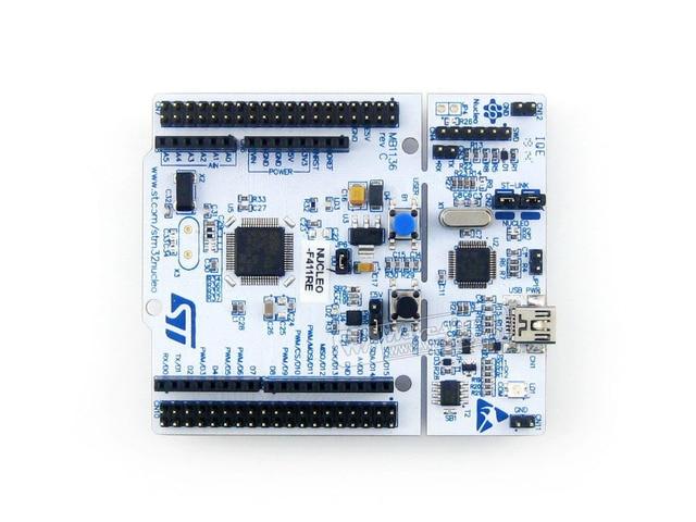 STM32 Junta Nucleo NUCLEO-F411RE STM32F411RE Tablero DEL Desarrollo STM32 ST-LINK/V2-1 Depurador/Programador