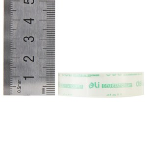 3 rollen lot 12mm * 20 yard kleine transparent briefpapier klebeband papier student hand paste deli 30014 kleine band liefert