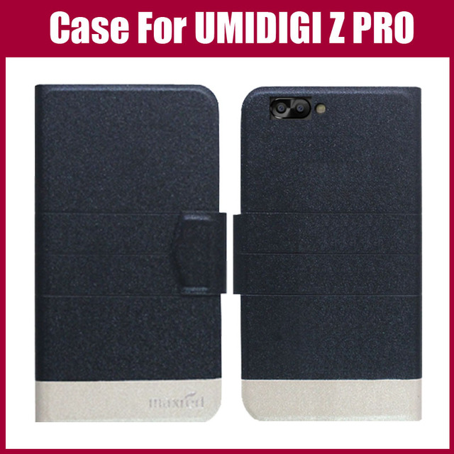Hot Sale! UMIDIGI Z PRO Case New Arrival 5 Colors Fashion Flip Ultra-thin Leather Protective Cover For UMIDIGI Z PRO Case