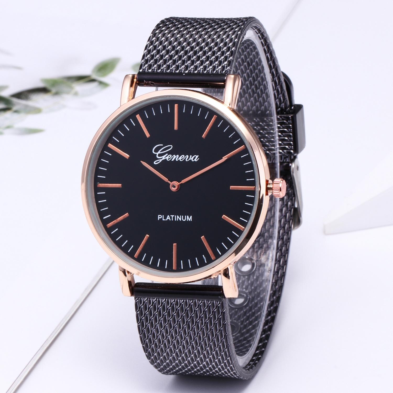Fashion Unsex Couple Quartz Watch Men Business Watches Luxury Brand Women Dress Wristwatches Simple Male Clock Female Hour