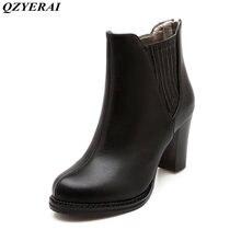 QZYERAI New arrival autumn/winter European classic Martin boots female boots womens shoes
