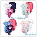 2016 Nova 3 pcs Set Meninos e Meninas Do Bebê Manga Longa bodysuit Calças, 100% algodão newborn clothing sets, Casual Wear